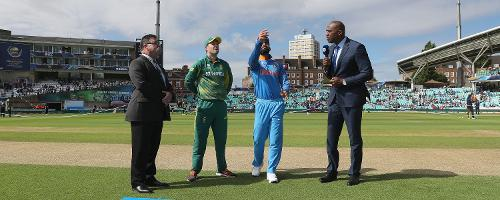 India won the toss and elected to field first