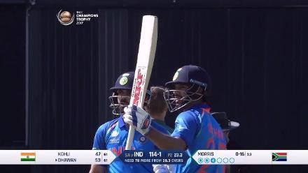 #CT17 Ind v SA: Shikhar Dhawan innings