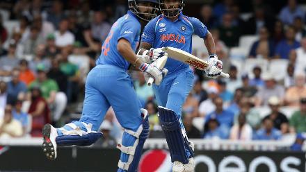 Kohli and Dhawan