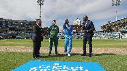 India v South Africa - Champions Trophy, Group B, London