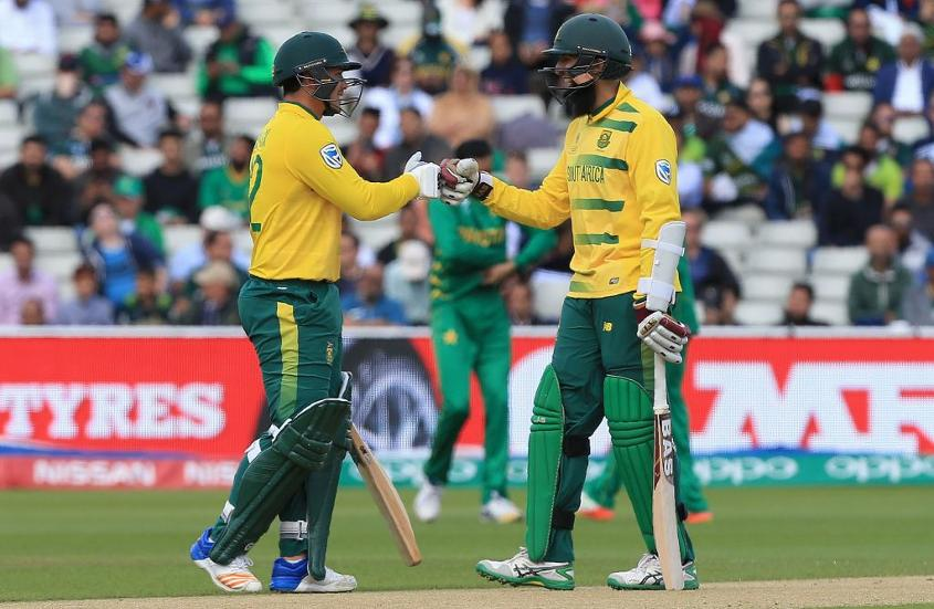 Hashim Amla is one of the most elegant players of his generation, while Quinton de Kock is aggressor who loves to go airborne early.