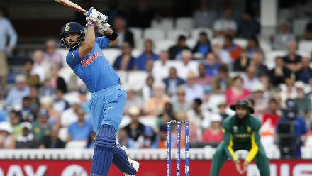 Virat Kohli remained not out on 76 off 101 balls including seven fours and one six to seal the win for India by 8 wickets