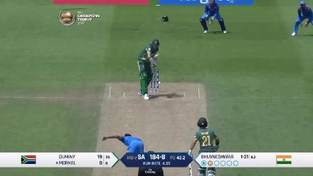 FALL OF WICKETS: South Africa tail-ender wickets