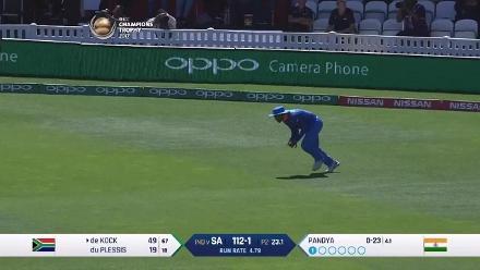 Quinton de Kock 53 v India