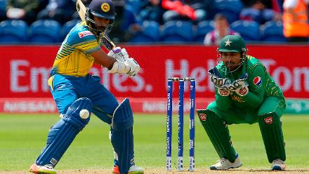 Niroshan Dickwella scored a measured 73 off 86 deliveries including four fours.