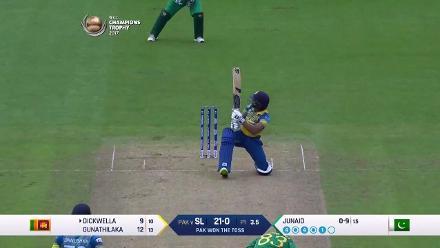 #CT17 SL v Pak: Niroshan Dickwella innings