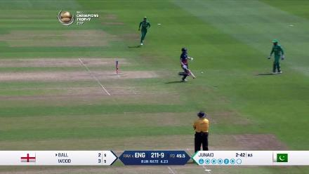 ENG v PAK: Champions Trophy semi-final highlights