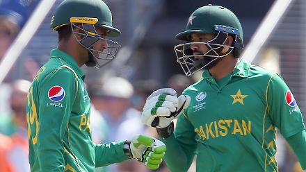 Azhar Ali (79) was the top scorer for Pakistan, stitching a crucial 118 run partnership for the opening wicket with Zaman.