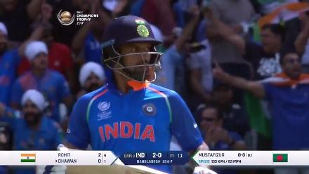 #CT17 SF2 - Ban v Ind: Openers give India a brisk start