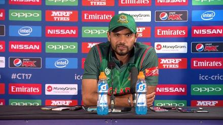 SF2 - BAN vs IND - Mortaza Press Conference