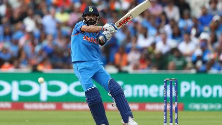 Kohli reached a landmark of his own in getting to 8,000 ODI runs in just his 175th innings, a new world record that bettered AB de Villiers's mark of 182.