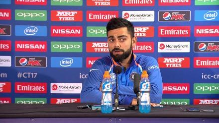 SF2 - BAN vs IND - Kohli Press Conference