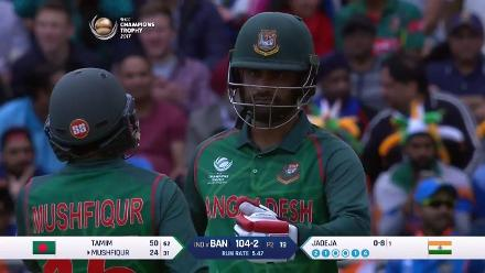 Tamim Iqbal scored a measured 70 off 82 deliveries