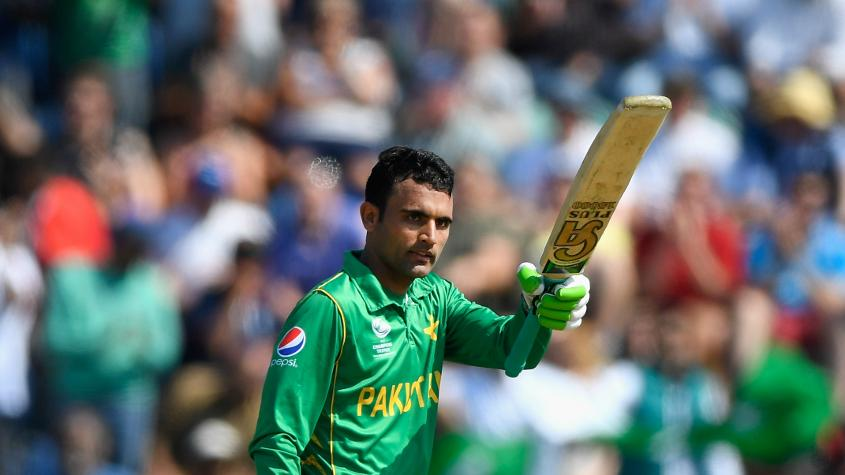 Fakhar Zaman, one of Pakistan's three debutants this tournament, has scores of 31, 50 and 57 in his three matches.