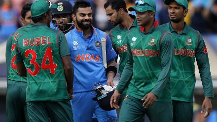 India was in cruise control throughout the chase, as they strolled past Bangladesh's total in 40.1 overs, winning by nine wickets and booking a spot in the Final.