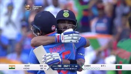 SF2 BAN vs IND - India Winning Moment