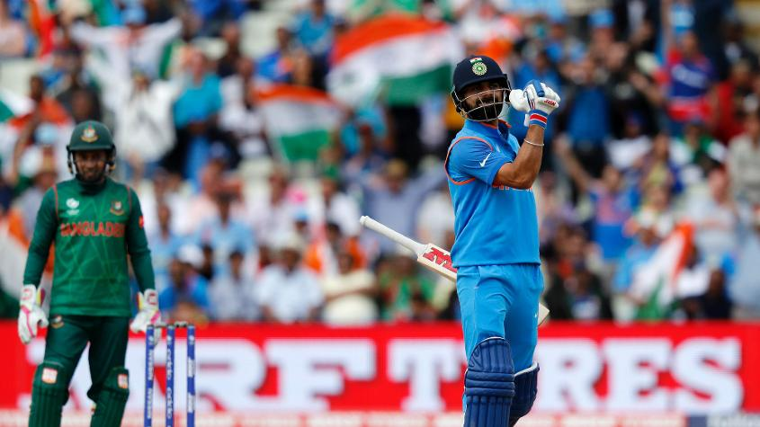 Virat Kohli has an exemplary record when it comes to chasing down a target