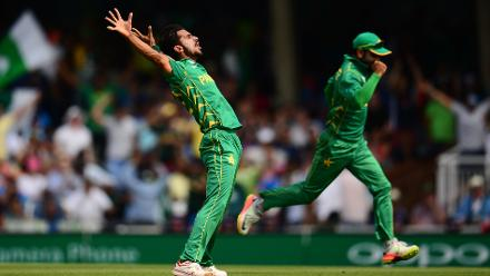 Hassan Ali, the leading wicket-taker in the tournament with 13 scalps was once again at it, returning with figures of 3 for 19 in 6.3 overs, as India bundled out for just 158 in 30.3 overs.