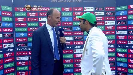 #CT17 Final - Pak v Ind: Captains Interview
