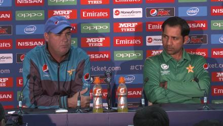 Final PAK v IND - Sarfraz Ahmed Pre Match Press Conference