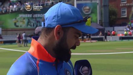 #CT17 Final -  Pak v Ind: Toss report