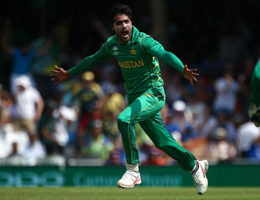 Amir's deliveries to dismiss Sharma and Kohli were nothing short of pure magic, he toyed with the very best in the world