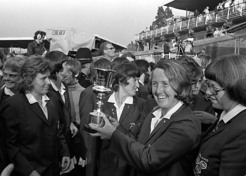 Heyhoe-Flint was the face of women's cricket for over 20 years and she led England to World Cup glory in 1973