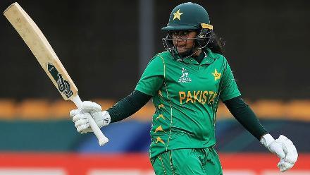 Ayesha Zafar waged a lone battle for Pakistan.