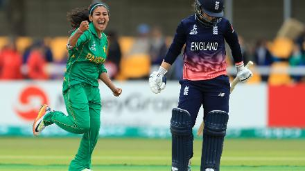 ICC Women's World Cup Match 5 - England v Pakistan, Leicester