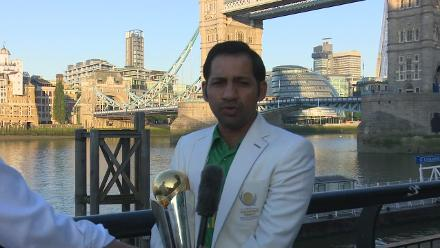 #CT17 victory will only take Pakistan cricket forward: Sarfraz Ahmed