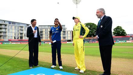 ICC Women's World Cup Match 8 - Sri Lanka v Australia, Bristol