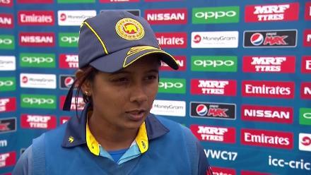 #WWC17: AUS v SL - Inoka Ranaweera post-match press interview