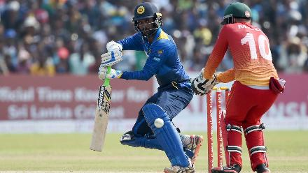 Upul Tharanga continued his good form and remained unbeaten on 75 off 86 balls, with eight hits to the fence.