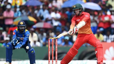 Malcolm Waller countered with a rapid 38 off 29 balls, but was castled by Wanidu Hasaranga