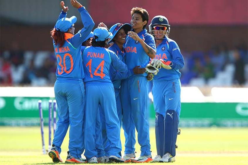 Mansi Joshi repaid the team management's faith in her by picking up 2 for 9 in 6.4 overs