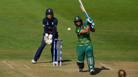Chloe Tryon blasted 54 runs off 26 balls.