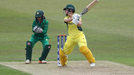 Perry had the support of Elyse Villani, who scored 59 off 40 balls including five fours and four sixes.
