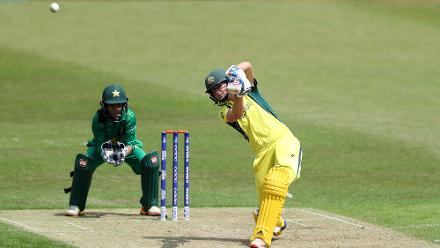 Australia lost both its openers early, but Ellyse Perry set the tone with a measured 66 off 97 deliveries including five fours.