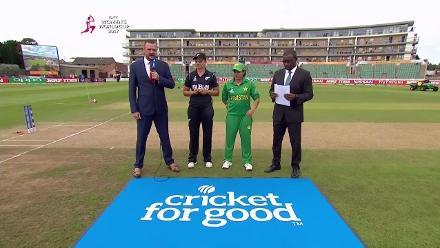 TOSS: Pakistan win the toss and choose to bat first