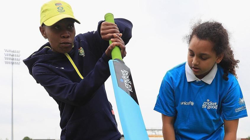 Ntozakhe has grown in stature not only as a cricketer but also as a coach responsible for grooming young girls in her province