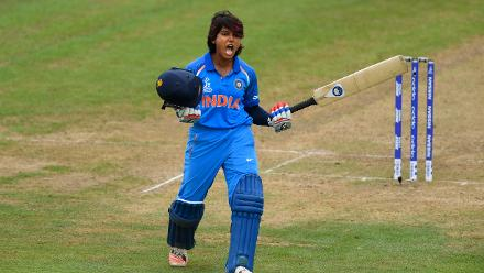 Punam Raut was in imperious touch, smashing her way to a scintillating 106 in 136 deliveries with eleven boundaries