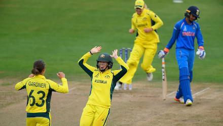 ICC Women's World Cup Match 23 - Australia v India, Bristol