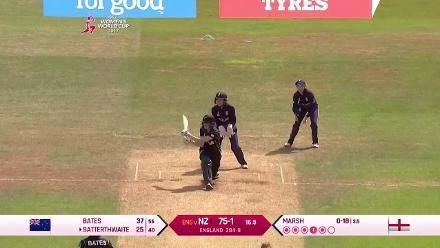 #WWC17 ENG v NZ - Amy Satterthwaite Innings