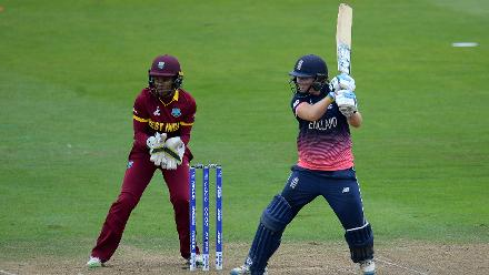 Heather Knight top scored for England with 67.