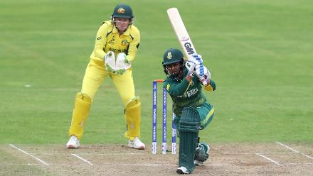 Trisha Chetty scored a sublime 37 before getting run out.