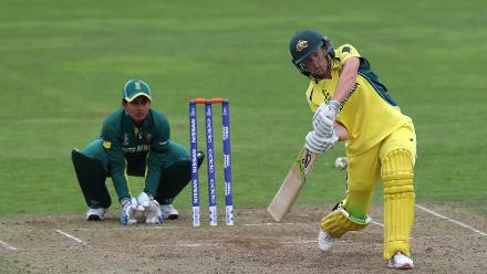 Alyssa Healy smashed 16 runs from 10 balls.