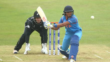 She was ably supported by Harmanpreet Kaur, who scored a fine 59 in 89 deliveries, stitching a 131-run partnership for the third wicket with her captain