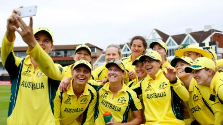 Australia struck at regular intervals to seal a convincing 59-run win.