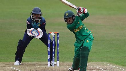 Javeria Wadood played a quick fire innings of 24 with five boundaries