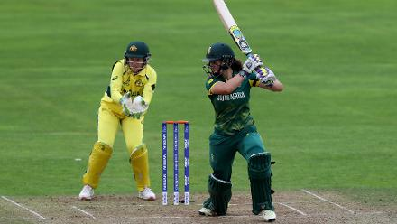 Laura Wolvaardt gave South Africa a solid start and got past her fifty